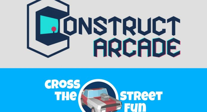 Cross the Street auf Construct Arcade