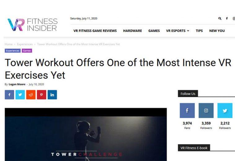VR Fitness Insider Artikel